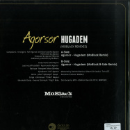 Back View : Agorsor - HUGADEM (MOBLACK REMIXES) - MoBlack Records / MBRV009