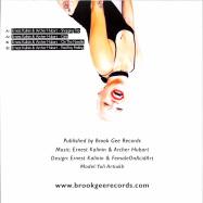Back View : Ernest Kalinin & Archer Hubart - GIRLS EP - Brook Gee Records / BG059