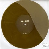 Back View : Kroppssprak / Raudive - WE ARE VOLUME 10 (10 INCH) - WRR010