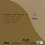 Back View : Bebetta - HERR KAPELLMEISTER REMIXE - Damm Records / Damm030