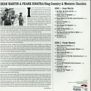Back View : Dean Martin & Frank Sinatra - SING COUNTRY & WESTERN CLASSICS (LP) - Not Now Music / CATLP148