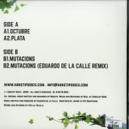 Back View : Makuto - VALLPARADIS EP (EDUARDO DE LA CALLE REMIX) - Arketip Discs / AD001