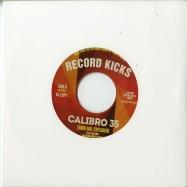 Back View : Calibro 35 - TRAVELERS / EXPLORERS (7 INCH) - Record Kicks / RK45075