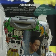 Back View : Alle Farben - STICKER ON MY SUITCASE (SPLATTERED 2LP) - B1 Recordings / 19075939631