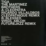 Back View : Tiga & The Martinez Brothers - BLESSED (RICARDO VILLALOBOS CLEOPATHIQUE REMIX) - Turbo Recordings / Turbo202