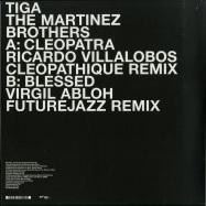 Back View : Tiga & The Martinez Brothers - BLESSED (RICARDO VILLALOBOS CLEOPATHIQUE REMIX) B-STOCK - Turbo Recordings / Turbo202