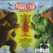 Back View : Lee Perry & Mr. Green - SUPER APE VS. GREEN: OPEN DOOR (LP) - Tuff Kong / TKR086