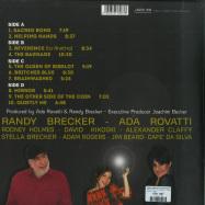 Back View : Randy Brecker & Ada Rovatti - BRECKER PLAYS ROVATTI - A SACRED BOND (2LP, 180 G VINYL) - Jazzline / D78073