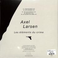 Back View : Axel Larsen - LES ELEMENTS DU CRIME (10 INCH) - Macadam Mambo / MMS303