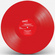 Back View : Maurice - THIS IS ACID (RED VINYL REPRESS) - Trax Records / TXR2RED
