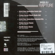 Back View : Nadia Ali - RAPTURE 2011 (MAXI CD) - Rise / rise527cdm