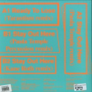 Back View : The Knife - READY TO LOSE / STAY OUT HERE REMIXES - Rabid Records / 39221180