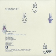 Back View : V/A (SIT, Funk E and Luc Ringeisen, Cleymoore and Joaquin Lledo) - SHEEP EP (180 GR, VINYL ONLY) - Secret Society Chile / SCRTC001