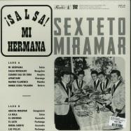 Back View : Sexteto Miramar - ¡SALSA! MI HERMANA (180G LP) - Vampi Soul / VAMPI-188 / 00131127
