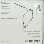 Back View : Prins Emanuel - OKAENDA SKAEL / ENSAMMA STUNDER (7INCH) - Nose Job / NJ#002