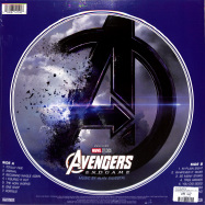 Back View : Alan Silvestri - AVENGERS: ENDGAME (PICTURE LP) - Walt Disney Records / 8741590