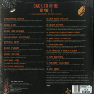 Back View : Jungle Present... - BACK TO MINE (2 LP, 180G VINYL) - Back To Mine / BACKLP30