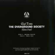 Back View : Gigi Testa - THE OVERGROUND SOCIETY - World Peace Music  / WPM-009
