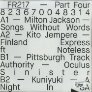 Back View : Milton Jackson, Kito Jempere, Pittsburgh Track Authority, Kuniyuki - 20 YEARS OF FREERANGE (PT 4) - Freerange / FR217