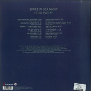 Back View : Peter Maffay - SONNE IN DER NACHT (LTD COLOURED 180G LP) - Red Rooster / 19075832801