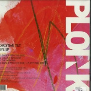 Back View : Christian Tilt - LIVE EP (+PLATTFORM REMIX) - Ploink / Ploink023