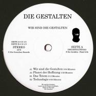 Back View : Die Gestalten - WIR SIND DIE GESTALTEN (BLACK 180G VINYL / VINYL ONLY) - Die Gestalten / DIEGESTALTEN002B