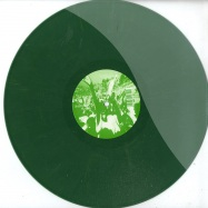 Back View : Frankie - THIN AIR EP (GREEN COLOURED VINYL) - Faste Music / Faste004