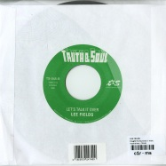 Back View : Lee Fields - FOUGHT FOR SURVIVAL (7 INCH) - Truth & Soul / TS045