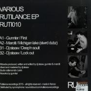 Back View : Dj Steaw, Gunnter, Marotti - RUTILANCE EP - Rutilance / Ruti010