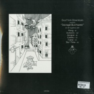 Back View : V/A (Guy From Downstairs, Dubsons, Faster, Coriesu, Morgan, Floog) - GUY FROM DOWNSTAIRS PRESENTS SAVAGE BUCHAREST (180G / 2x12 / VINYL ONLY) - GFD / GFD004