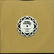 Back View : Von D ft. Rider Shafique - FRICTIONS (10 INCH) - Dubs Galore / DOR001