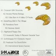Back View : Rising Sun Systems (AKA Legowelt) - OBERHEIM SPACE (2X12INCH) - Solander Recording Company / SLN001