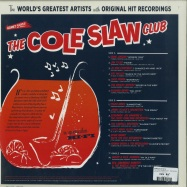 Back View : Various Artists - THE COLE SLAW CLUB (180G LP + 7 INCH) - Cree Records / 05157521
