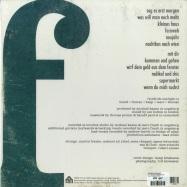 Back View : Friedrich Sunlight - SAG ES ERST MORGEN (LP) - Tapete / TR439 / 05172731