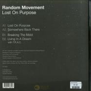 Back View : Random Movement - LOST ON PURPOSE (EP + ALBUM-MP3) - Flight Pattern / FLTPTRN001LP