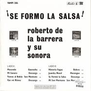 Back View : Roberto De La Barrera Y Su Sonora - SE FORMO LA SALSA (180G LP) - Vampisoul / VAMPI206 / 00136975