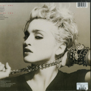 Back View : Madonna - MADONNA (LP, 180G, CRYSTAL CLEAR VINYL) - Rhino / 0349784930