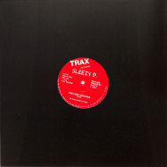 Back View : SLEEZY D Marshall Jefferson - IVE LOST CONTROL (RED VINYL REPRESS) - Trax / TX113RED