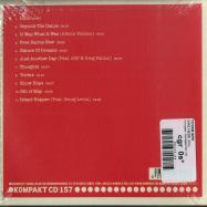 Back View : Yotam Avni - WAS HERE (CD) - Kompakt / Kompakt CD 157