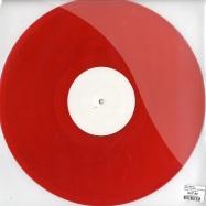 Back View : Saints & Sinners - PUSHIN TOO HARD / NIC FANCIULLI RMX (Red Coloured Vinyl) - Bedrock / Bed9NF20106