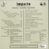 Back View : Hector Costita Sexteto - IMPACTO (LP, 180GR) - Munster Records / MRSSS 558