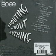 Back View : BCee - SHOUTING ABOUT NOTHING (CD) - Spearhead / SPEAR098CD