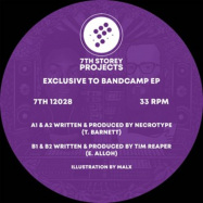 Back View : Necrotype & Tim Reaper - EXCLUSIVE TO BANDCAMP - 7th Storey Projects / 7TH12028