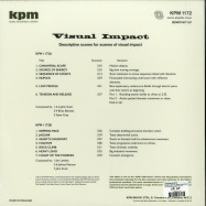 Back View : Various Artists - VISUAL IMPACT (KPM) (ANALOGUE REMIXES) (140 G VINYL) - Be With Records / BEWITH071LP