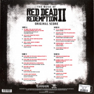 Back View : Various - THE MUSIC OF RED DEAD REDEMPTION 2 (LTD CLEAR 2LP) - Invada / LSINV225LP / 39148041