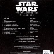 Back View : John Williams - STAR WARS: THE EMPIRE STRIKES BACK O.S.T. (2LP) - Walt Disney Records / 8746273