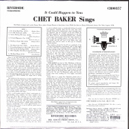 Back View : Chet Baker - CHET BAKER SINGS: IT COULD HAPPEN TO YOU (LP) (LP) - Concord Records / 7219753
