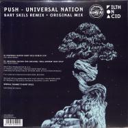 Back View : Push - UNIVERSAL NATION (BART SKILS REMIX)(SPECIAL GOLD EDITION) - BONZAI VINYL / BV2019011G