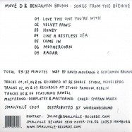 Back View : Move D & Benjamin Brunn - SONGS FROM THE BEEHIVE (CD) - Smallville / SmallvilleCD01