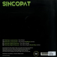 Back View : Piek Feat. Lazarusman & Bjerk Peterson - LOST TREASURES EP - Sincopat / SYNC025